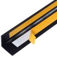 Алюминиевый уголок 20х20х1 (2,0м) Черный Муар Quick Stick