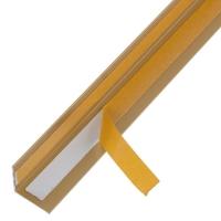 Алюминиевый уголок 20х20х1 (2,0м) Золото Quick Stick