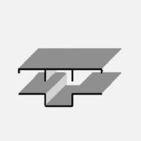 Соединительный профиль «Омега» с крышкой «Т», 3 метра