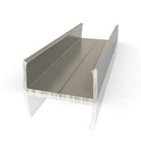 Торцевой алюминиевый профиль П16/8 для плиты 16 мм
