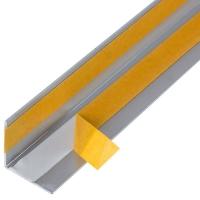 Алюминиевый уголок 20х20х1 (2,0м) Серебро Quick Stick