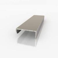 Алюминиевый накладной профиль С16 (защёлка) для плит ДСП 16мм
