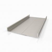Торцевой алюминиевый профиль П38 для плиты 38 мм и дверного полотна